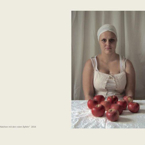 mädchen m. den roten Äpfeln uta kilian moes