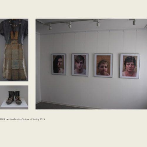 Ausstellung Kilian Moes Faces: 1945