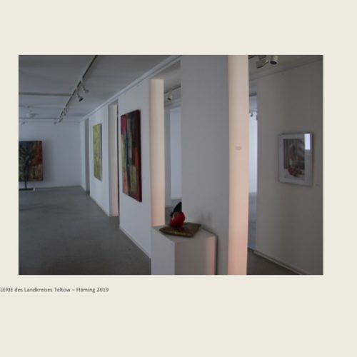 Ausstellung Kilian Moes Malerei
