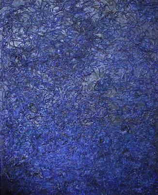 Gedankenlandschaft in Blau