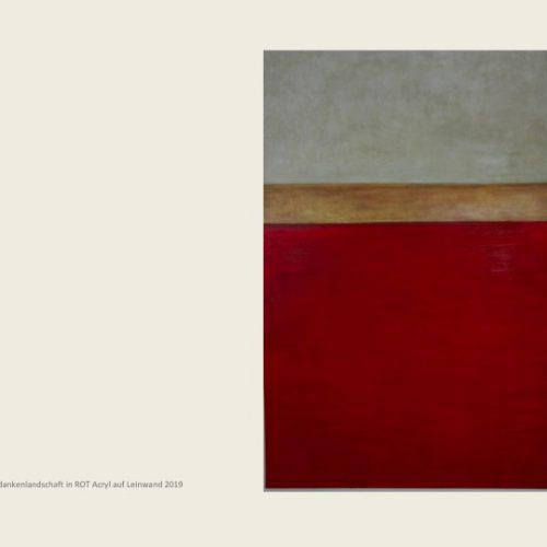 Kilian Moes Malerei Rot